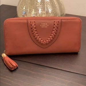 Vince Camuto leather wallet